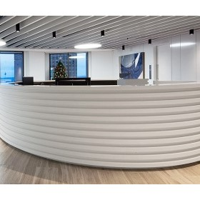 Cladding for Reception Counters | Corian®