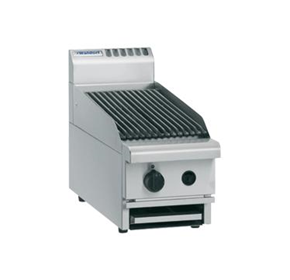 300mm Bench Model Gas Chargrill | Waldorf 800 Series CH8300G-B