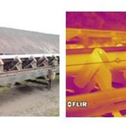 Thermal imaging cameras used for predictive maintenance inspections