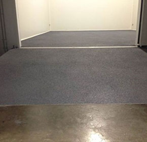 Floor Tuff Ultimate provides anti-slip solution for DHL cold room