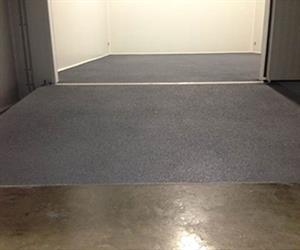 Cool room and ramp anti slip coated with Floor Tuff Ultimate