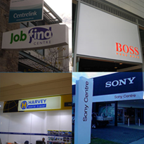 Signage rollouts