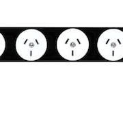 Power Strip | 8x GPO 10A Outlets