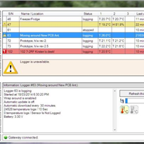 User Interface Software for WIFI Wireless Loggers | TempReport™