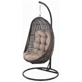 Wicker Hanging Chair | Eggnog