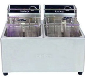 Double 5L 2 x 10 Amp Fryer | Birko