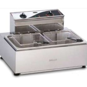 Single Pan/Double Basket Fryer | Roband
