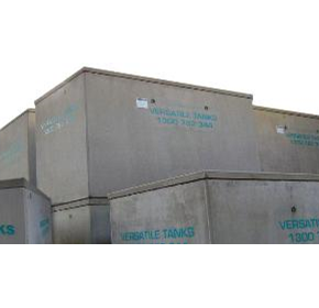 Dangerous Goods Concrete Storage Tanks | Versatile Tanks