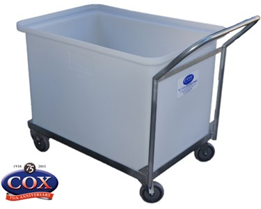 Mobile Tub with Cranked Push Handle