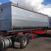 Used 2010 7.1m Slideback Tipping Lead Trailer | Hamelex White