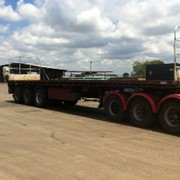 Used 2003 40' Flat Top Trailer | JTB