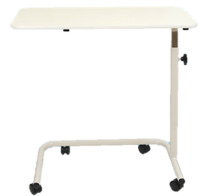 Overbed Table with Laminate Top | Spring Adjustable