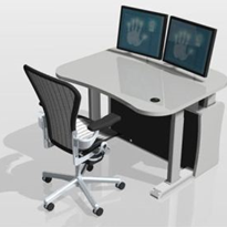 Control Room Consoles | Platinum 1 Tier Control Room Series e-00-1200