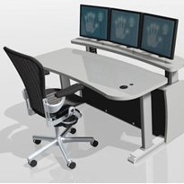 Control Room Consoles | Platinum 2 Tier Control Room Series p-00-1600