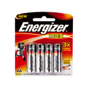 Household Batteries | AAA, AA, C, D & 9V