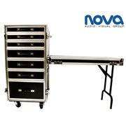 7 Draw Road Case & Work Table | Nova NC7D