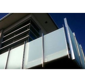 Frosted Glass Balustrade | ST.CH Product