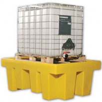 Single IBC Bunded Pallet with Grate 100 Litres | TSSBB1