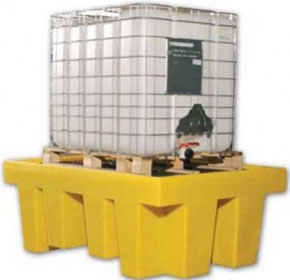 Single IBC Spill Containment Pallet | TSSBB1
