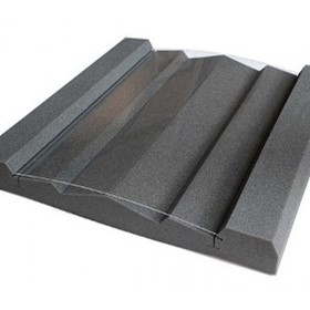 Hybrid Acoustic Absorber/Diffuser | HA600-75