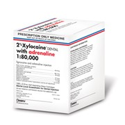Anaesthetic | 2 per cent Xylocaine Dental with adrenaline 1:80,000
