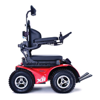Four Wheel Drive Wheelchair | Extreme X8