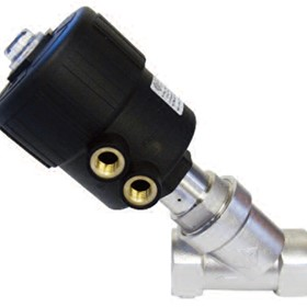 Stainless Steel Angle Seat Valves | ODE 2-Way