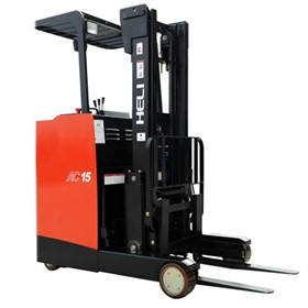 Stand Up Reach Truck Electric Forklift | HELI