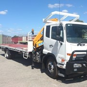 8 Tonne Rigid Crane Hire | HIAB