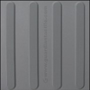Directional Tactile Indicators | MEDIUM GREY TGSI's