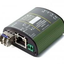 3 Port Industrial PoE Fast Ethernet Micro Media Converter