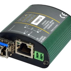 2051 - Fiber to Copper Industrial Fast Ethernet Micro Media Converter