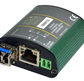 Fiber to Copper Industrial Fast Ethernet Micro Media Converter