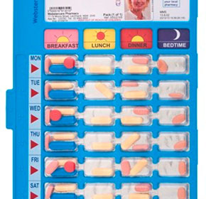 Multi-dose Medication Dispensers | Webster-pak® Community