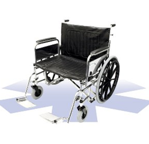 Bariatric Manual Wheelchair | ALC611