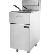 Single Pot Gas Deep Fryer | ANETS | Silverline SLG40