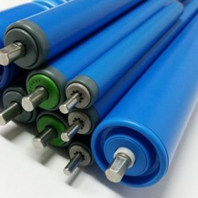 PVC Conveyor Roller Parts | Food Grade Conveyor Rollers
