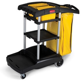 Janitor Cart | Rubbermaid 9T72 High Capacity