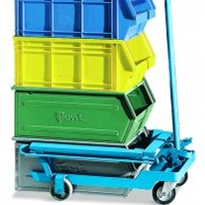 Industrial Trolley for Lifting and Stacking | FAMI Trolley