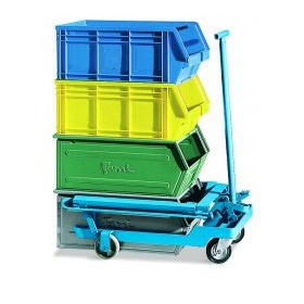 Industrial Trolley for Lifting and Stacking | Trolley