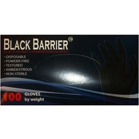 Nitrile Heavy Duty Gloves | Black Barrier