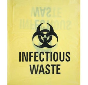 Biohazard Infectious Waste Bags