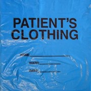 Patient Clothing Bags