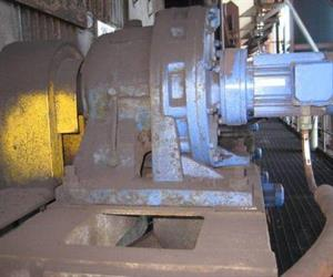 The Roll Feeder Drives pictured have been in use since commissioning with the only maintenance being the scheduled oil changes.