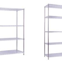 Nickel/Chrome Wire Shelving | MediMesh
