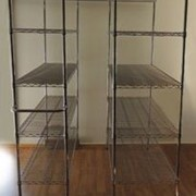 Nickel/Chrome MultiBay Storage and Shelving | WireMax