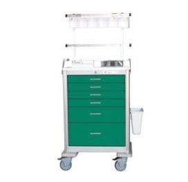 Anaesthesia Cart - Steel 6 Drawer | Waterloo UTGKU-333369-FWG