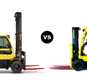 LP gas vs battery electric forklifts