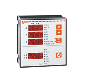 Flush Mount Digital Multimeters | DMK2
