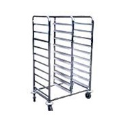 Gastronorm Stainless Steel Trolley | HOS-101-WHGN21